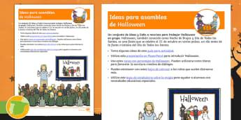 Pack de enseñanza: Halloween - noche de brujas, plan, planificación,trabajo grupal, trabajos grupales, trabajo en grupo, actividad