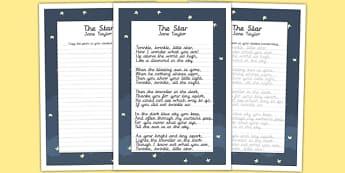 The Star KS2 Handwriting Practice - ks2, handwriting, practice, star