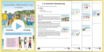 3-6 Australian Citizenship Day Assembly Pack - Yr 3, Yr 4, Australian Citizenship Day, Australian Events, Yr 5, Yr 6, Assembly,Australia