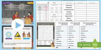 Year 4 Term 1B Week 1 Spelling Pack - Spelling Lists, Word Lists, Autumn Term, List Pack, SPaG
