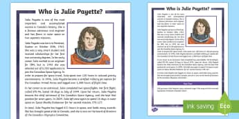 Who is Julie Payette? Fact File - Canada's 150th Birthday, canada, quebec, montreal, famous canadians, french canadian, astronat, spa
