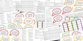 2014 Curriculum Lower KS2 Maths Assessment Pack - numeracy, target