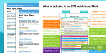 EYFS Under the Sea Bumper Planning Pack Overview - Under the Sea, eyfs, early years, planning, plans, resources, ocean, sea, underwater, sea creatures,