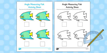 Angle Measuring Fish Activity - angle, measuring, fish, activity