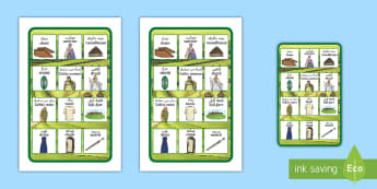 KEA Tolsby Iron Age Britain Word Mat Arabic/English - IKEA Tolsby Roman Empire Word Mat - ikea tolsby, roman empire, prompt frame, word mat, frame, prompt