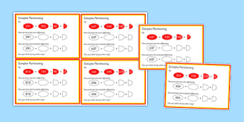 Complex Partitioning Challenge Cards - complex partitioning, challenge, cards