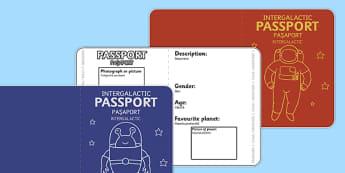 Space Passports Romanian Translation - romanian, space, passports, outer space, travel, space travel