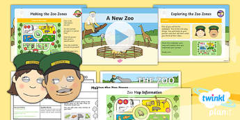 Animals: Dear Zoo: Non-Chronological Reports 1 Y1 Lesson Pack To Support Teaching on 'Dear Zoo' - Stories with repeating parts, mini topic, safari, whole class guided reading, minibeasts