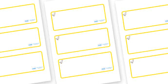 Duck Themed Editable Drawer-Peg-Name Labels (Blank) - Themed Classroom Label Templates, Resource Labels, Name Labels, Editable Labels, Drawer Labels, Coat Peg Labels, Peg Label, KS1 Labels, Foundation Labels, Foundation Stage Labels, Teaching Labels
