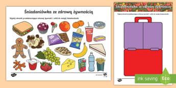 Śniadaniówka ze zdrową żywnością - zdrowa, żywność, żywnością, ze, zdrową, śniadaniówka, zdrowe, odżywianie, jedzenie, posił