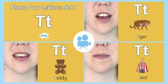 Phase 2 Phonemes : Set 1 't' Video - Phonics, satpin, Letters, Sounds, Satp, Twinkl Go, twinkl go, TwinklGo, twinklgo