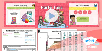 PlanIt Y1 Number and Place Value Count up to and Back from 50 (1) Lesson Pack - Counting, count, fifty, 50, 0-50, count up, count back, party, year 1, year one, ks1, maths, numerac