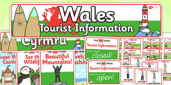 Wales Tourist Information Role Play Pack - roleplay, wales