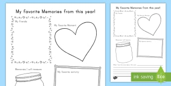 End of the Year Writing Activity Sheet - End of school year, end of year, end of school, writing activity 1st grade, writing activity 2nd gra