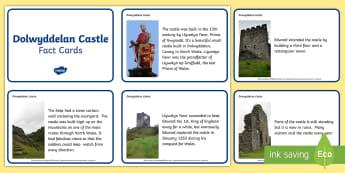 Dolwyddelan Castle Information Cards - castle, castell, dolwyddelan, Gogledd Cymru, North Wales, Edward 1st, Edward y cyntaf, conquest, brw