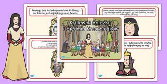 Krolewna Sniezka i Siedmiu Krasnoludkow po polsku , Polish