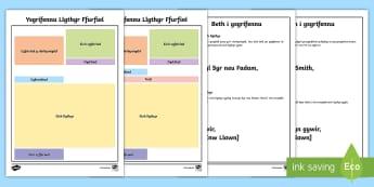 Cymorth Ysgrifennu Llythyr Ffurfiol  - llythyr ffurfiol, formal letter, ffurf, form, cymorth, prompt,Welsh