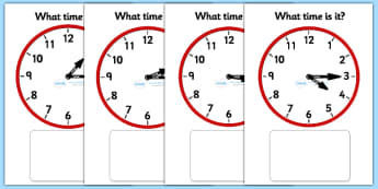 Clock Matching Game - Quarter Past - Clock time matching game, Time, Time resource, Time vocabulary, clock face, O'clock, half past, quarter past, quarter to, shapes spaces measures, clock game, time game, foundation stage, KS1