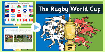 The Rugby World Cup EYFS PowerPoint - rugby world cup, eyfs, powerpoint