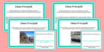Citirea ghidată, ideea principală - Cartonașe cu activități - citirea ghidată, ideea principală, idee principală, cartonașe, activități, limba română, romanian, materiale, materiale didactice, română, romana, material, material didactic