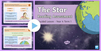 Year 4 Reading Assessment Poetry Term 1 Guided Lesson PowerPoint - Year 3, Year 4 & Year 5 Reading Assessment Guided Lesson PowerPoints, KS2, reading, read, assessment