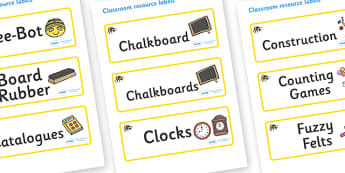 Bumble Bee Themed Editable Additional Classroom Resource Labels - Themed Label template, Resource Label, Name Labels, Editable Labels, Drawer Labels, KS1 Labels, Foundation Labels, Foundation Stage Labels, Teaching Labels, Resource Labels, Tray Label