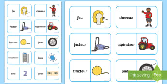 Dominos :Le son [e]  - Lecture, sons, sons complexes, cycle 2, GS, CP, CE1, CE2, orthographe, reading,French