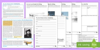 Extraordinary Lives: The Life of Bessie Coleman Differentiated Reading Comprehension Activity - bessie coleman, amazing women, female achievement, aviation, comprehensions, differentiated