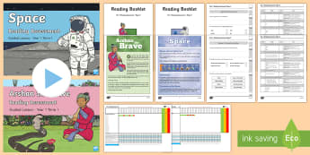 Year 1 Term 1 Paper 2 Bumper Resource Pack - reading, read, assessment, test, powerpoint,comprehension, assessment presentation, peer assessment,