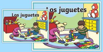 Cartel Los juguetes