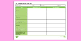 Goal Setting Interviews Family Editable Proforma - New Zealand, Class Management, Interviews, Goal Setting Interviews, Parent Conferences