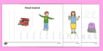 Not Right Now Pencil Control Sheets - not now bernard, not right now, david mckee, pencil control