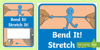 Bend It! Stretch It! Year 1 Chemical Sciences Editable Book Cover - Science, primary connections, physical science, chemical, grade 1, year 1, science journal, cover pa