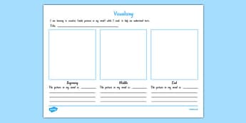 Visualising Activity Sheet, worksheet
