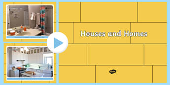 EYFS Houses and Homes Photo PowerPoint - house, home, visual aid