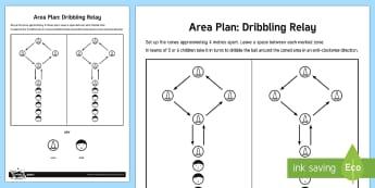 Hockey Dribbling Practice Adult Guidance - Hockey, dribbling, KS2, invasion games