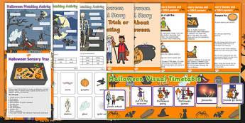 SEN Halloween Resource Pack - sen, halloween, resource pack, resource, pack