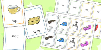 Final 'P' Sound Playing Cards - game, games, play, activities,
