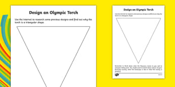 Design an Olympic Torch - welsh, cymraeg, Rio Olympics, Design an Olympic Torch