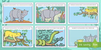 Rică rinocerul Planșe pentru modelaj cu plastilina - ronald, rică rinocerul, povești, activități integrate, activitate integrată, siruri logice, și