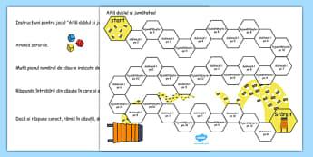 Dublul și jumătatea - Tablă de joc