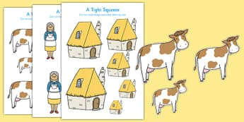 A Tight Squeeze Size Ordering - a tight squeeze, a squash and a squeeze, julia donaldson, size ordering