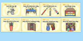 We Can Classroom Rule Display Posters Urdu Translation - urdu, Good manners, good behaviour, class management, behaviour management, SEN, polite, indoor voice - which classroom area?