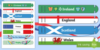 The Six Nations Wristband-Irish -  rugby, wristbands, rewards, RBS Six Nations,Irish, England Rugby, Wales Rugby, Ireland Rugby, Scotl