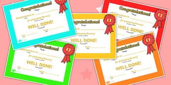 End of Term Certificates Graduated Arabic Translation - arabic