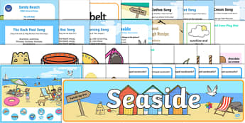 Childminder The Seaside Resource Pack