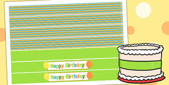 Jungle Themed Birthday Party Cake Ribbon - parties, birthday