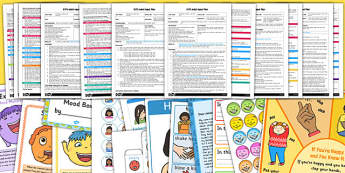 EYFS All About Me My Emotions Adult Input Planning and Resource Pack - planning pack, adult led