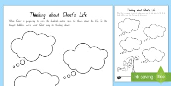 Year 5 and 6 Chapter Chat Week 5 Thinking about Life Activity To Support Teaching On Ghost by Jason Reynolds - literacy, reading, chapter chat, year 5, year 6, ghost, jason reynolds