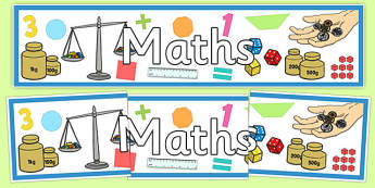 Maths Display Banner - australia, maths, display banner, display, banner